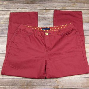 Avenue Jeans Red Wide Leg Size 18